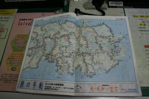 汽车站和站边地图