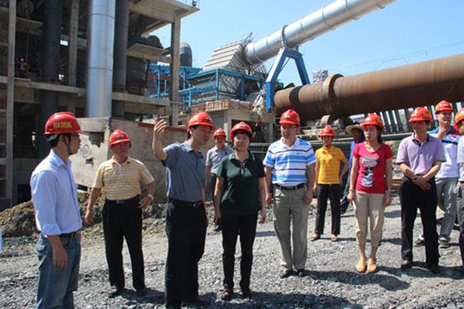 水泥厂四期项目进展情况;