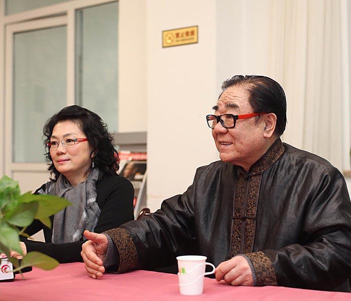 """马秋华表示:""""一个国家的文化素质怎么样,关系到整个国家的气质"""